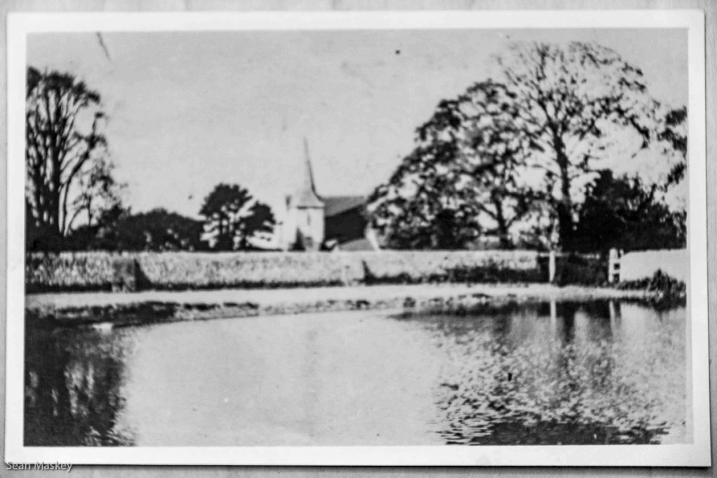 Chaldon Church from the Pond 1926