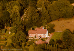 Chaldon Court aerial West