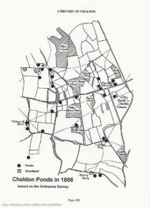 Chaldon Ponds 1868