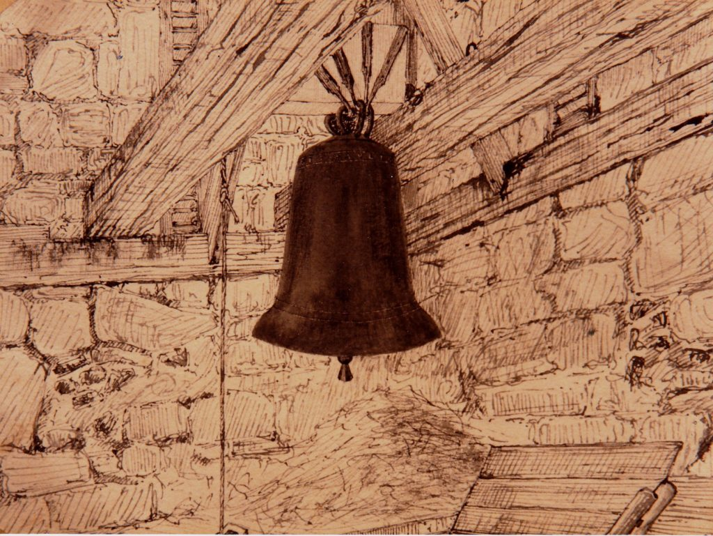 1894 - St Paul bell in the tower before 1902 new bells